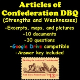 Articles of Confederation DBQ (Strengths & Weaknesses)