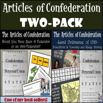 Articles of Confederation: Federalist / Anti-Federalist - Land Ordinance of 1785