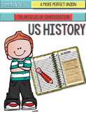 ARTICLES OF CONFEDERATION FOLDABLES