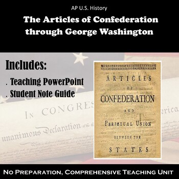 Articles of Confederation - George Washington