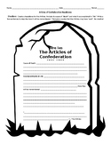 Articles of Confederation Headstone