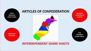 Articles of Confederation: Interdependent Share-Sheets Activity