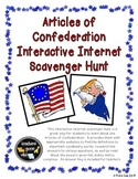 Articles of Confederation Internet Scavenger Hunt