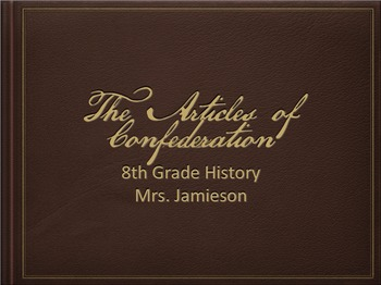 Articles of Confederation: Introduction and Weaknesses