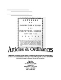 Articles of Confederation, Land Ordinance of 1787, and NW