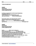 Articles of Confederation Lyrics