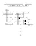 Articles of Confederation / Northwest Ordinance Crossword Puzzle