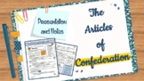 Articles of Confederation Notes and Presentation