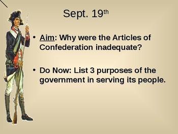 Articles of Confederation PPT