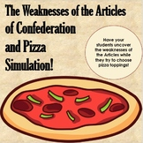 Articles of Confederation Pizza Topping Challenge