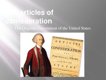 Articles of Confederation Power Point