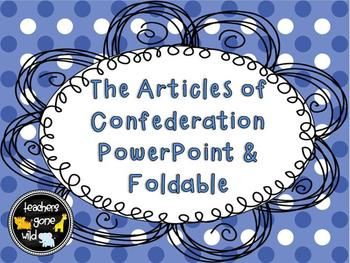 an introduction to the history of the articles of the confederation History the articles of confederation,  articles of confederation:  introduction to research methods in psychology.