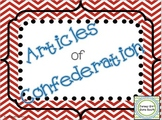 Articles of Confederation PowerPoint and Notes Bundle