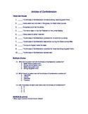 Articles of Confederation Quiz