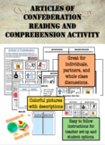 Articles of Confederation Reading and Comprehension Activity