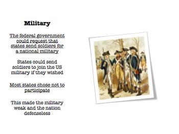 Articles of Confederation / Shays' Rebellion