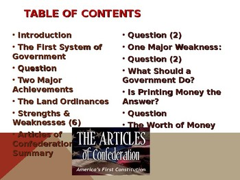 major weakness of the articles of confederation