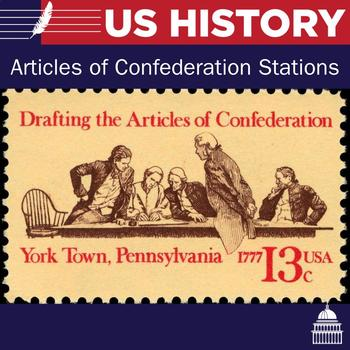 Articles of Confederation Stations   US History