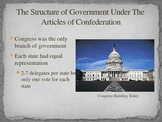 Articles of Confederation The Structure of Government Diff