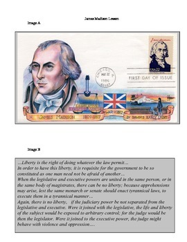 Articles of Confederation Through James Monroe Warm Up/Review Lessons