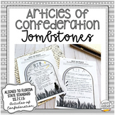 Articles of Confederation Tombstones | Project for Civics