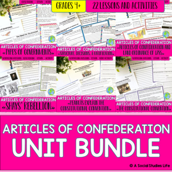 Articles of Confederation UNIT BUNDLE with BONUS card sets