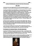 Articles of Confederation Worksheet - description and comp
