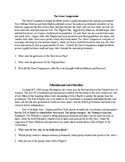 Articles of Confederation and Constitution Document Based