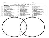 Articles of Confederation and Constitution Venn Diagram wi