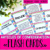 Articles of Confederation and Constitutional Convention Fl