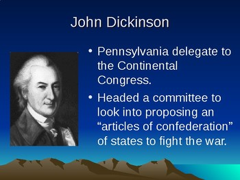 Articles of Confederation and the Land Ordinance of 1785