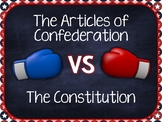 Articles of Confederation & the Constitution (Notes, Study Guide, & Quiz)