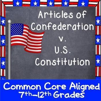 Articles of Confederation Graphic Organizer