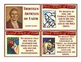 Articles of Faith Flashcards