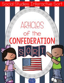 Articles of Confederation {Interactive Notebook Sort}