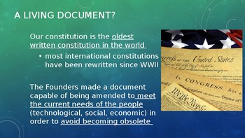 Articles of the Constitution AP Government  35 slides