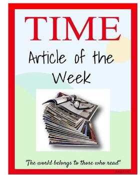 Common Core Informational Reading--Articles of the Week