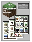 Articulation for /S/:Theme of Minecraft (initial, medial, final and blends)