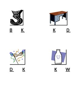 Artictulation: /k/ Final Position