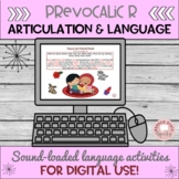 Mixed Groups:  Articulation and Language Activities Prevocalic R