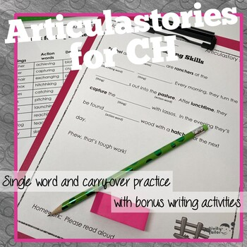 ArticulaStories for CH articulation therapy