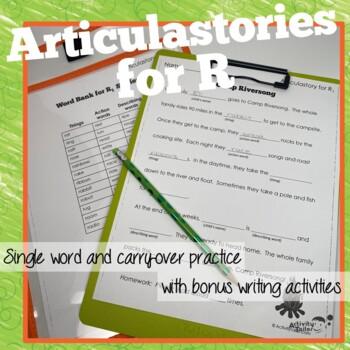 Articulation of R in Sentences: ArticulaStories