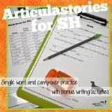 ArticulaStories for SH articulation therapy
