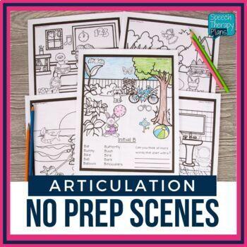 No Prep Articulation Scenes