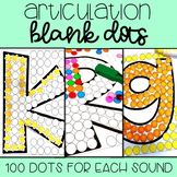 Articulation Activity: 100 Dots Per Sound
