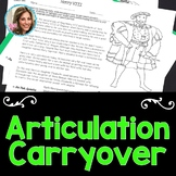 Articulation Worksheets | Speech and Language  | Articulation Therapy