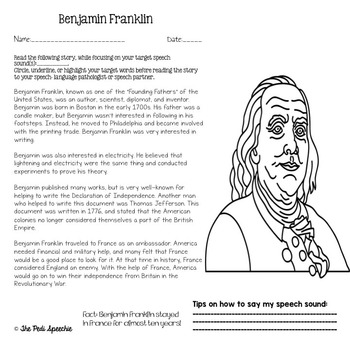 Carryover Articulation Worksheets for Speech Therapy