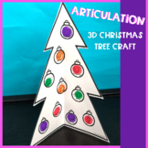 Articulation 3-D Christmas Tree Craft