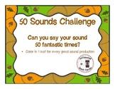 Articulation: 50 Sounds Challenge