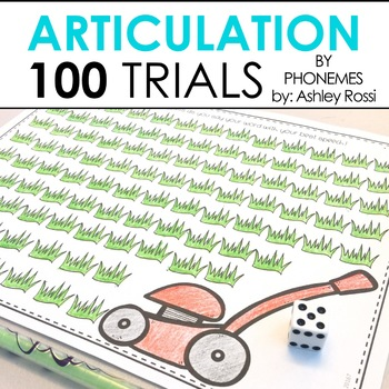 100 Articulation Trials In Speech Therapy - By Phonemic Sound